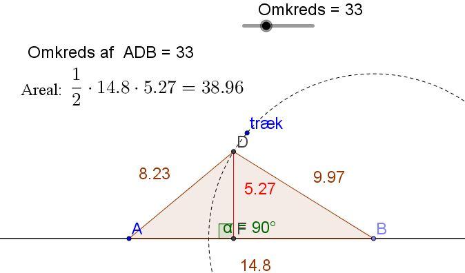 plus minus trekant