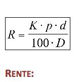 Simpelt rentesregning